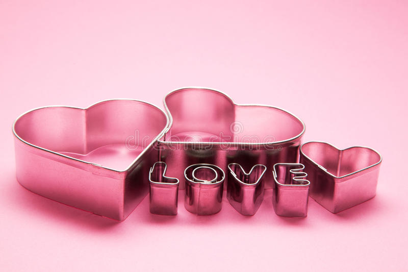 Download Hearts And Love Letters Text Stock Photo - Image of love, pink: 22740560