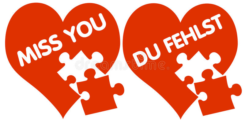 Download Hearts With Missing Pieces Stock Photo - Image: 23236530