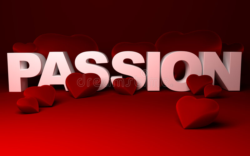Download Hearts and Passion stock illustration. Illustration of engagement - 4850820