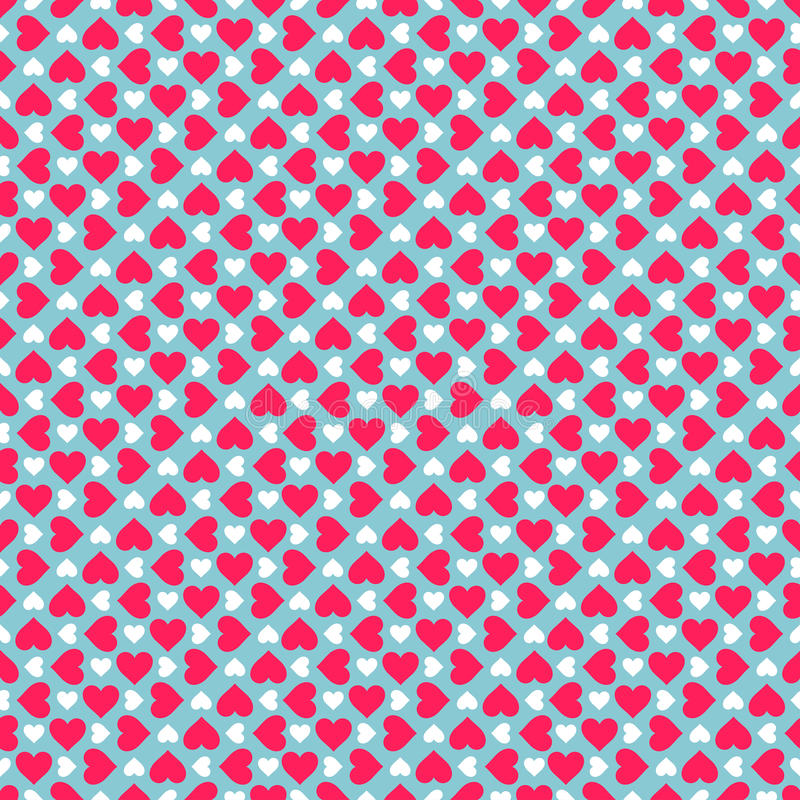 Download Hearts pattern stock vector. Illustration of print, pink - 28551458