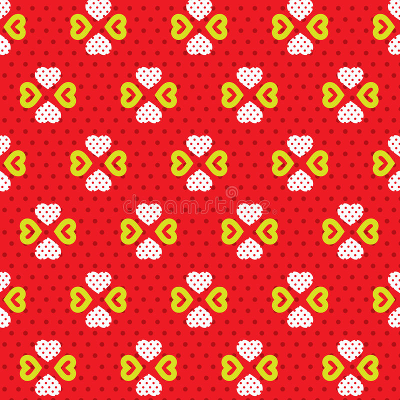 Download Hearts Pattern stock vector. Illustration of holiday - 39507696