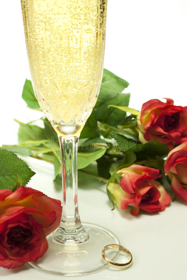 Download Hearts and roses stock image. Image of love, felt, champagne - 28472773