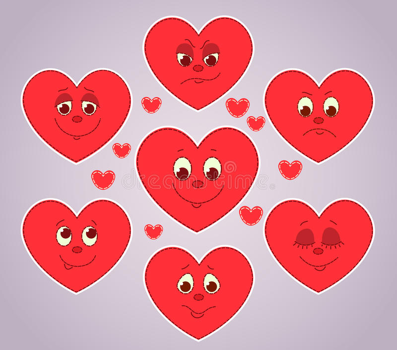 Download Hearts Smiles. Royalty Free Stock Photography - Image: 36272057