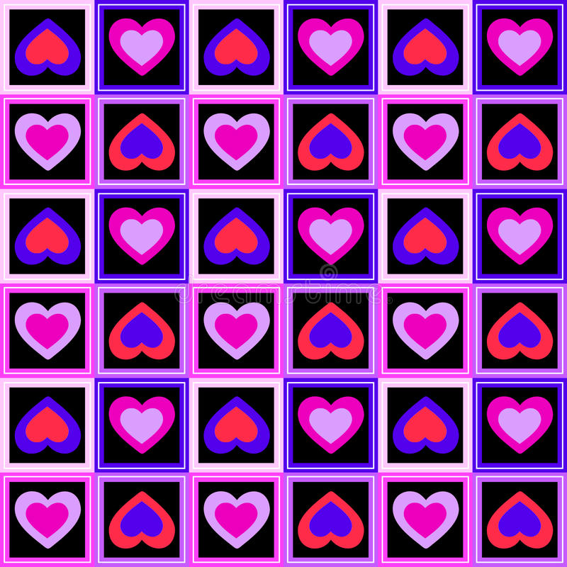 Download Hearts And Squares Royalty Free Stock Images - Image: 29220699