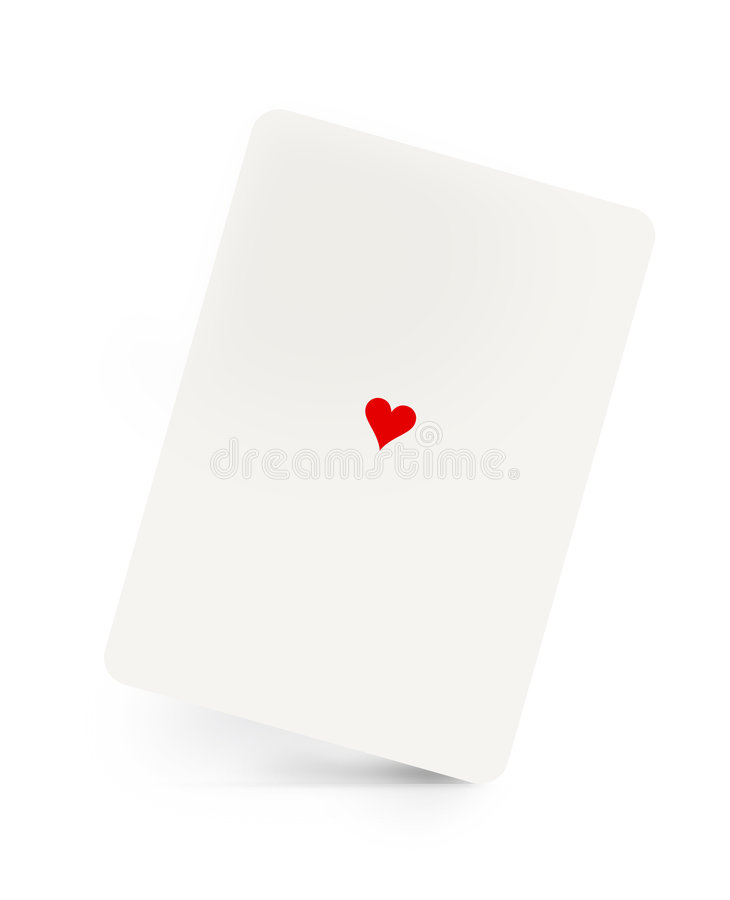 Hearts Suit Royalty Free Stock Photography