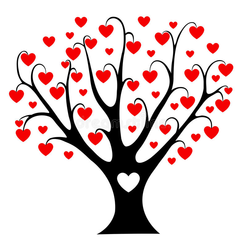 Download Hearts Tree. Royalty Free Stock Photography - Image: 28819847
