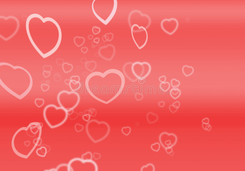 Download Hearts For Valentines stock illustration. Image of hearts - 60009
