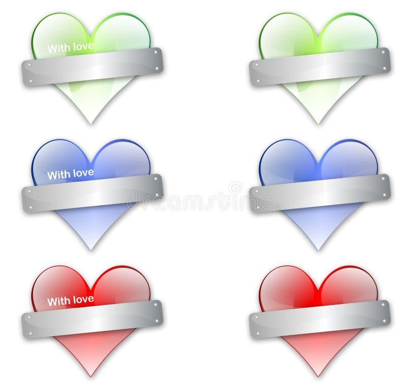hearts1 免版税库存照片