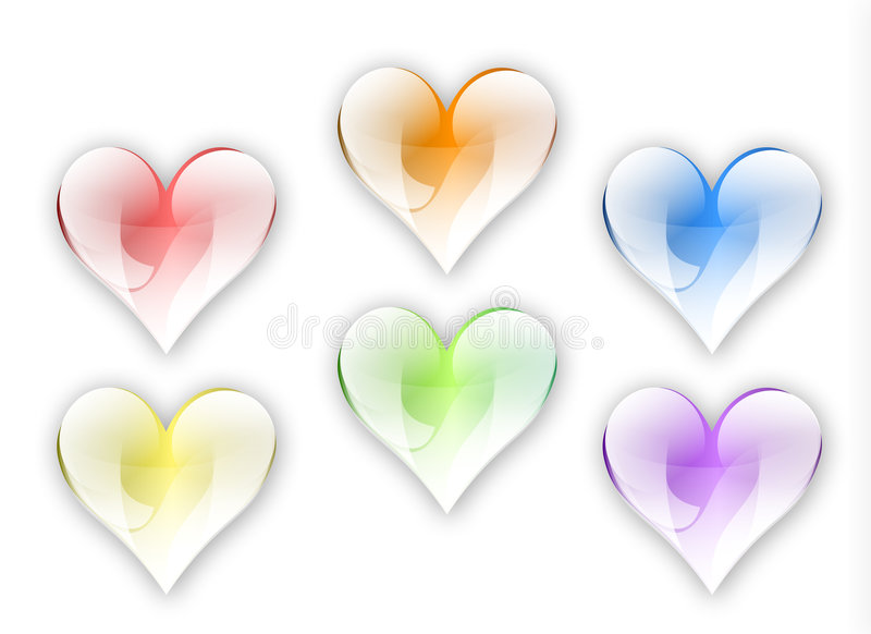 hearts2 免版税库存图片
