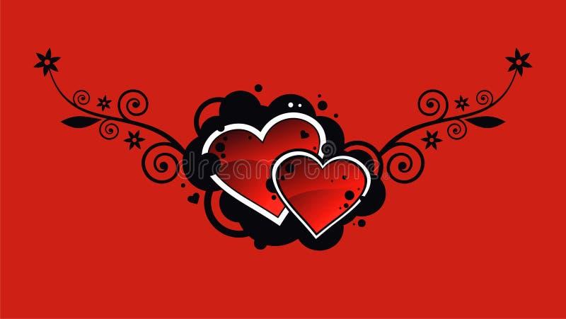 hearts2 royalty ilustracja