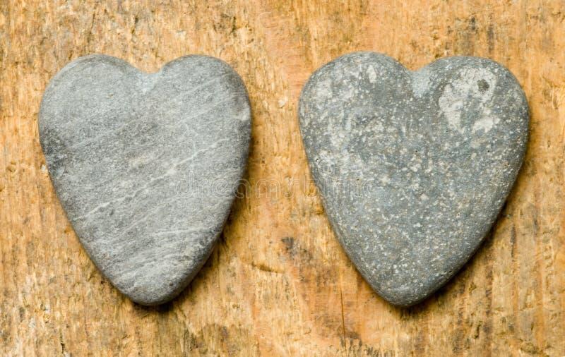 heartshaped stenar arkivbild