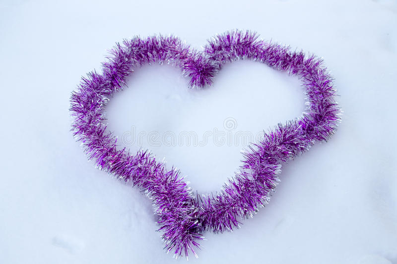 Download Heartt shaped tape stock photo. Image of emotion, winter - 85351030
