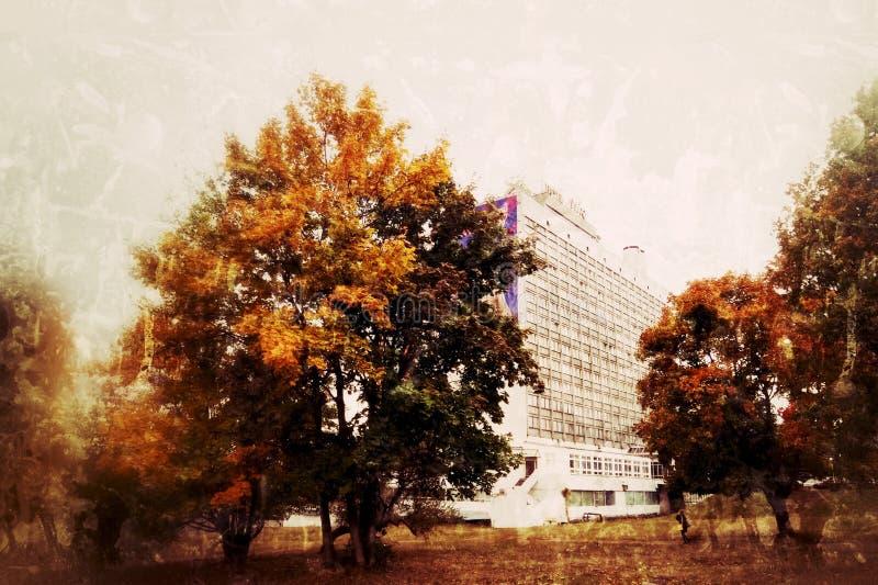 Heat of autumn as it is. stock photo