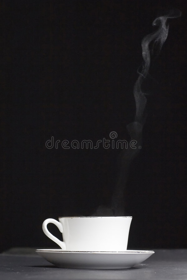 Download Heat cup of coffee stock image. Image of heat, cookie - 6362501