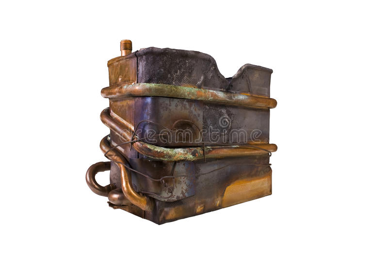 Download Heat exchanger stock photo. Image of accident, apparatus - 10354504