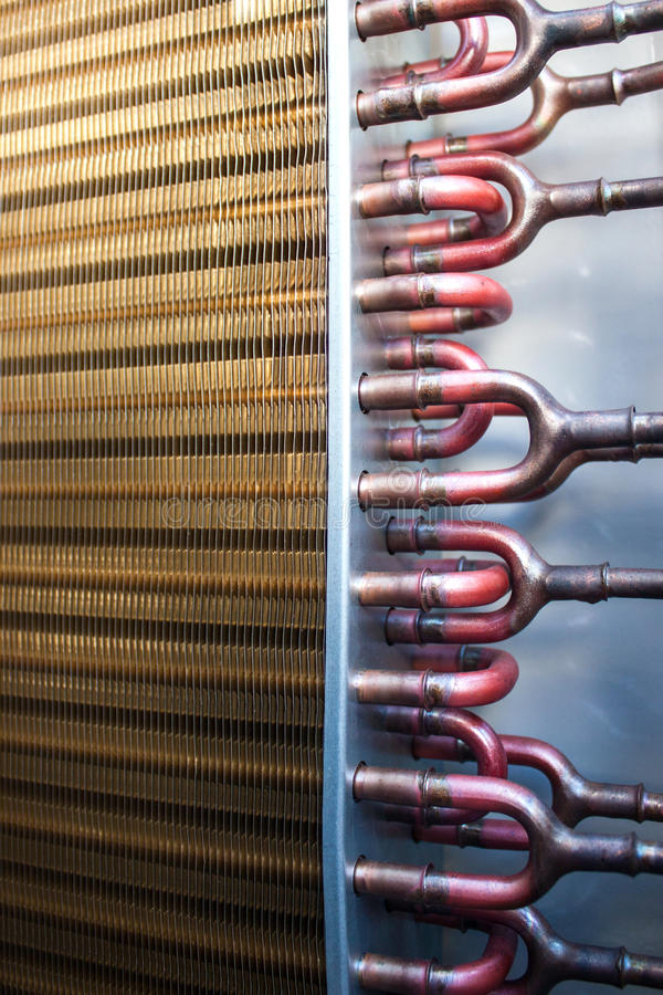 Download Heat Exchanger stock image. Image of device, metal, fragment - 38357719