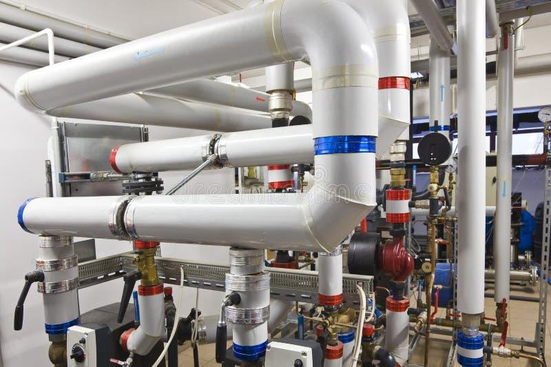 Download Heat exchanger room stock image. Image of steel, industrial - 28678945