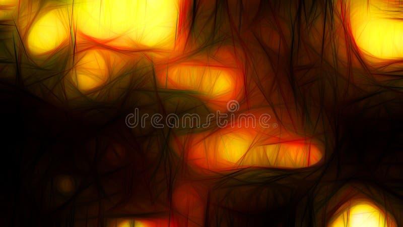 Heat Orange Red Background Beautiful elegant Illustration graphic art design Background. Image royalty free illustration