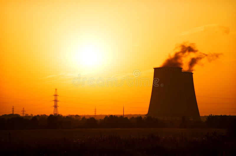 Download Heat and power plant stock image. Image of scene, generating - 6104565