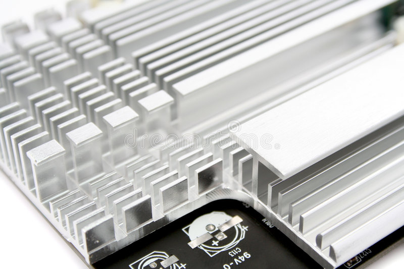 Download Heat Sink stock image. Image of overheated, line, electric - 4433529