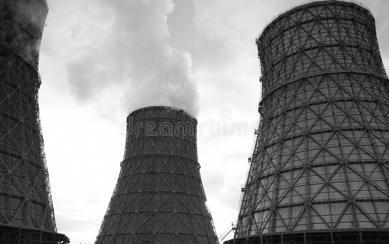 Download The heat station stock image. Image of energy, building - 7591255