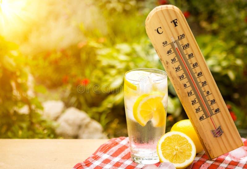 Heat wave stock photo