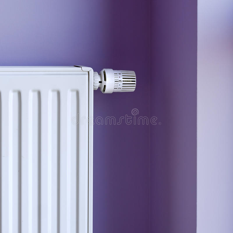 Download Heater with thermostat stock image. Image of control - 20812387