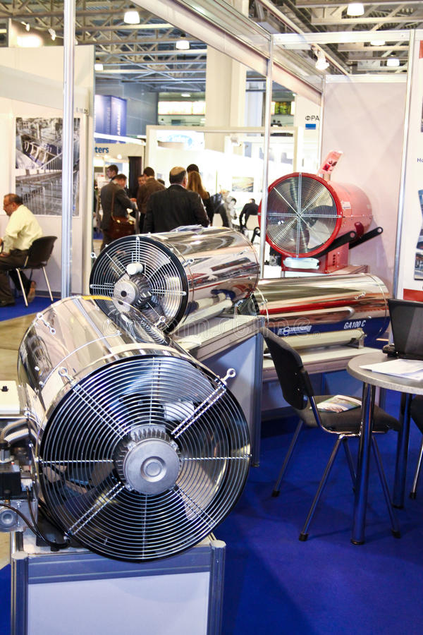 Heaters ARCOTHERM Editorial Stock Photo