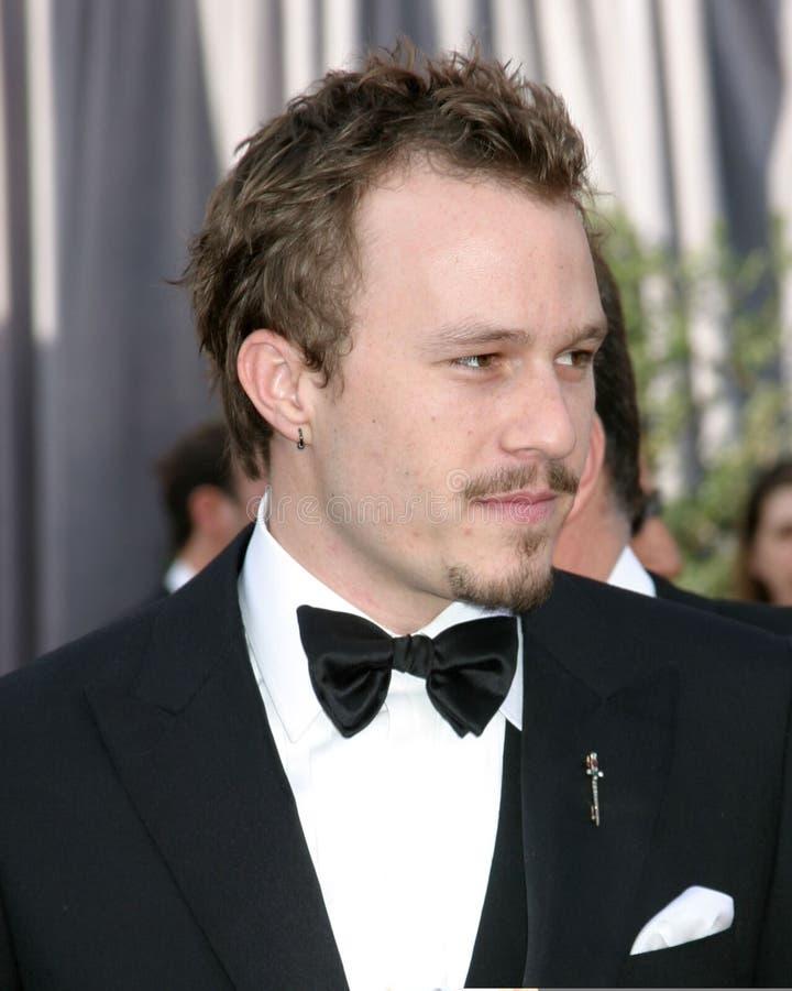 Heath Ledger royaltyfri bild