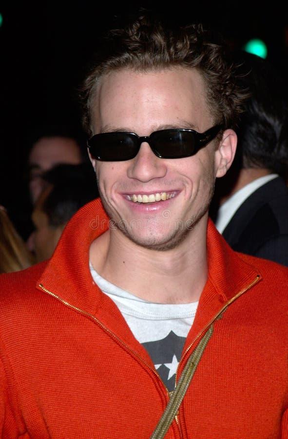 Heath Ledger images libres de droits