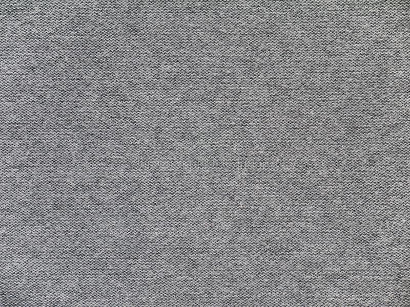 Heather gray knitwear fabric underside texture stock images