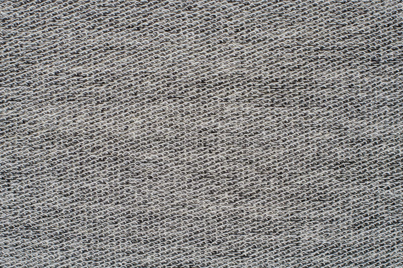 Heather grey knitted fabric texture royalty free stock photography