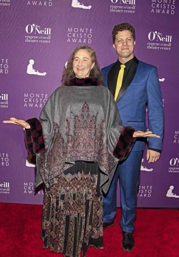Heather Henson och Eric Wright på den 19th årliga Monte Cristo Award royaltyfri fotografi