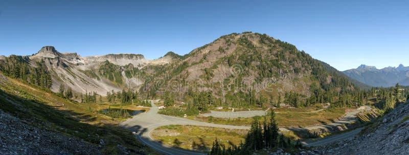 Heather Meadows Mt -bagaren, Washington royaltyfri foto