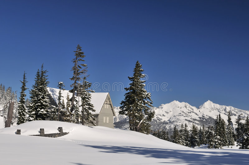 Download Heather Meadows Visitor Center In Mt. Baker Stock Photo - Image of shelter, forest: 8460134