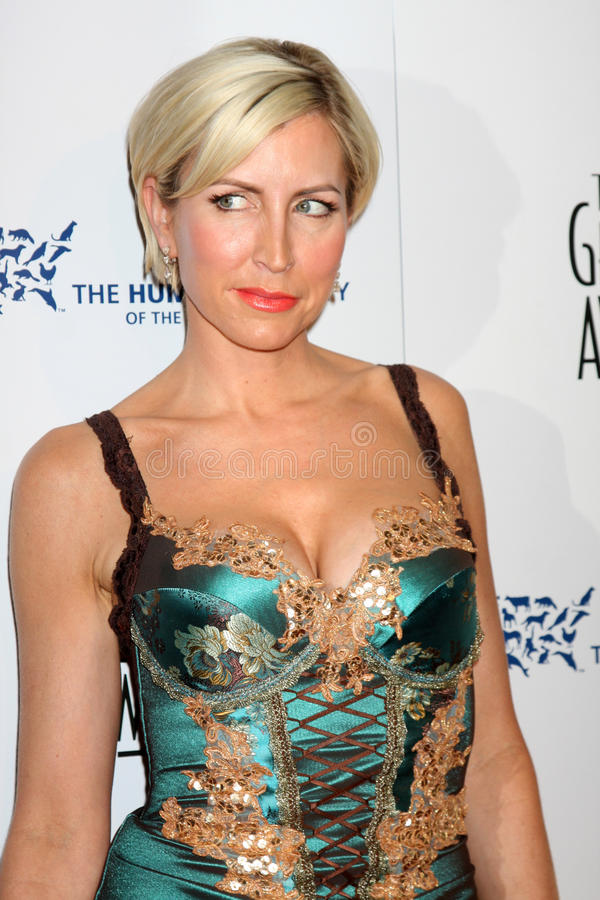 Heather Mills. Arriving at the Genesis Awads at the Beverly Hilton Hotel in Beverly Hills, CA on March 28, 2009 stock image
