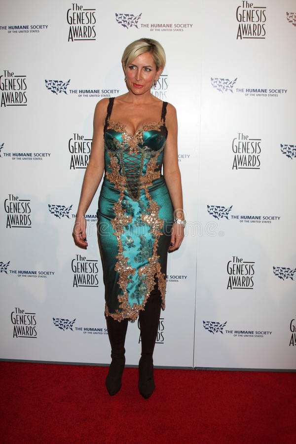 Heather Mills. Arriving at the Genesis Awads at the Beverly Hilton Hotel in Beverly Hills, CA on March 28, 2009 stock images