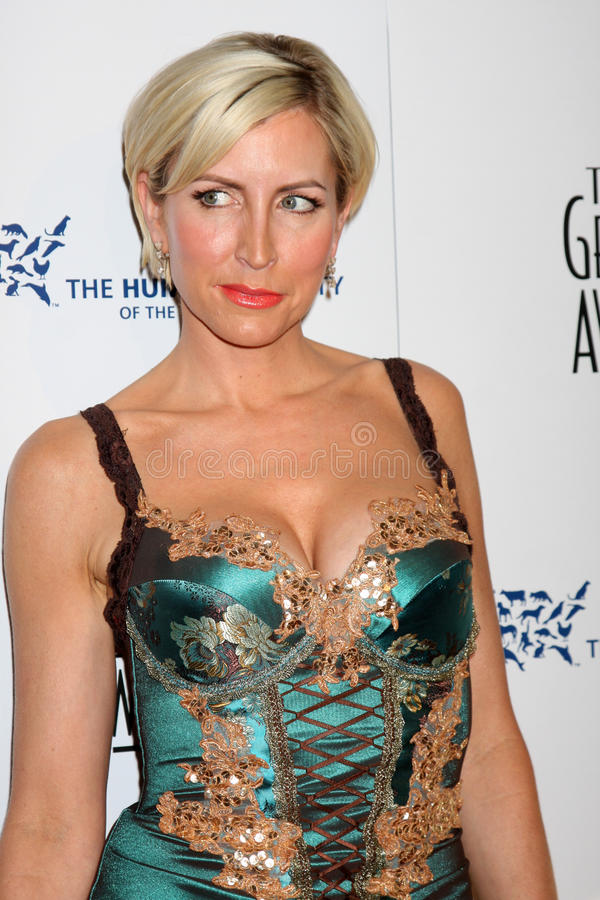Heather Mills. Arriving at the Genesis Awads at the Beverly Hilton Hotel in Beverly Hills, CA on March 28, 2009 royalty free stock photography