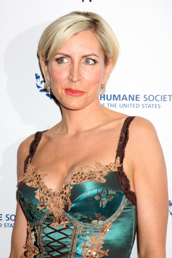 Heather Mills. Arriving at the Genesis Awads at the Beverly Hilton Hotel in Beverly Hills, CA on March 28, 2009 stock photo