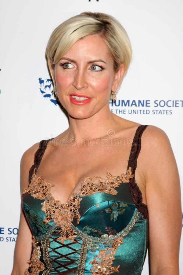 Heather Mills. Arriving at the Genesis Awads at the Beverly Hilton Hotel in Beverly Hills, CA on March 28, 2009 stock photos
