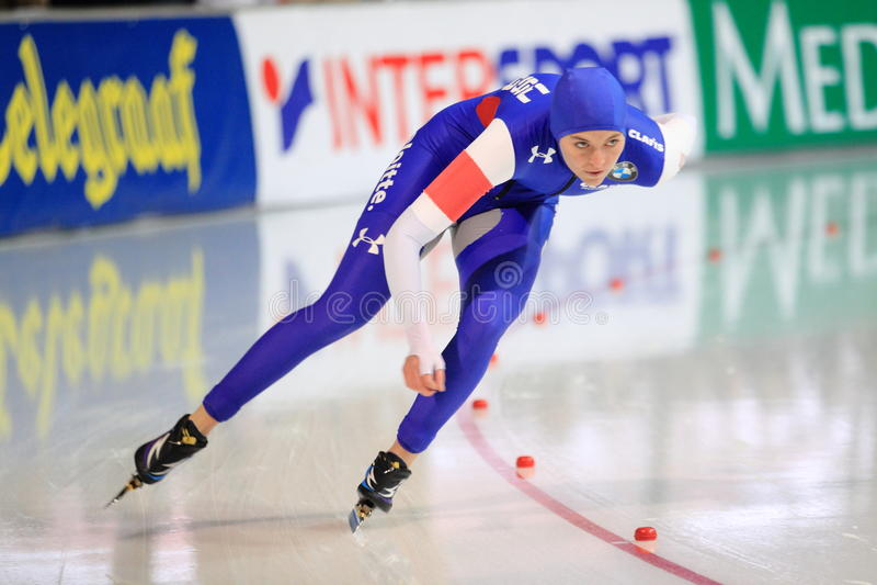Heather Richardson - patinage de vitesse photo stock