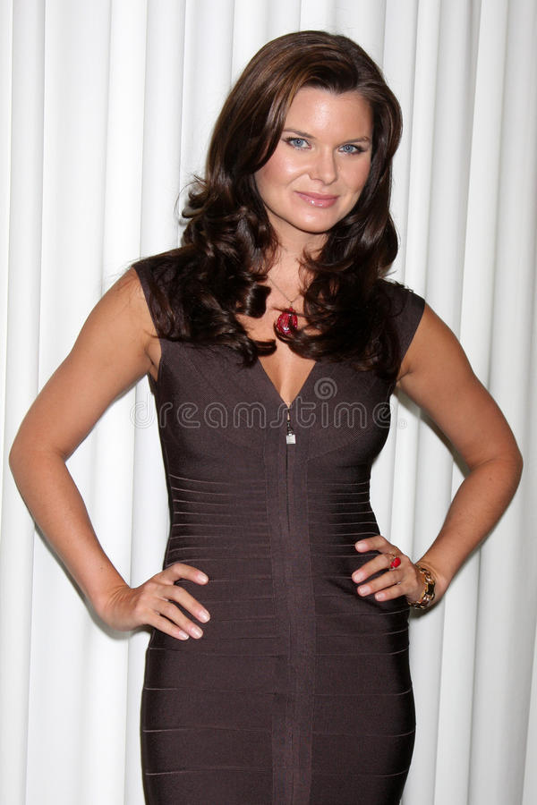 Heather Tom. At the Bold & the Beautiful Fan Club Luncheon at the Sheraton Universal Hotel in Los Angeles, CA on August 29, 2009 stock photography