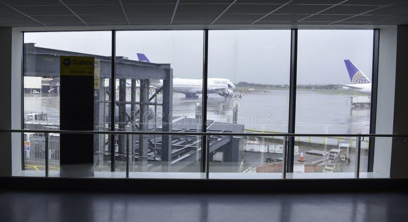 Heathrow Airport - Terminal 2 stock images