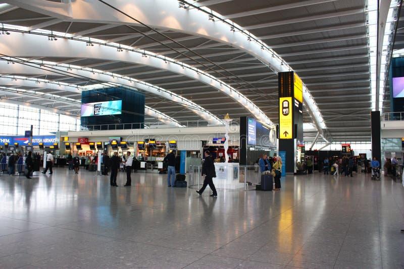 Heathrow airpot lizenzfreie stockbilder