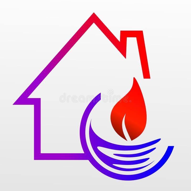 heating illustrazione di stock