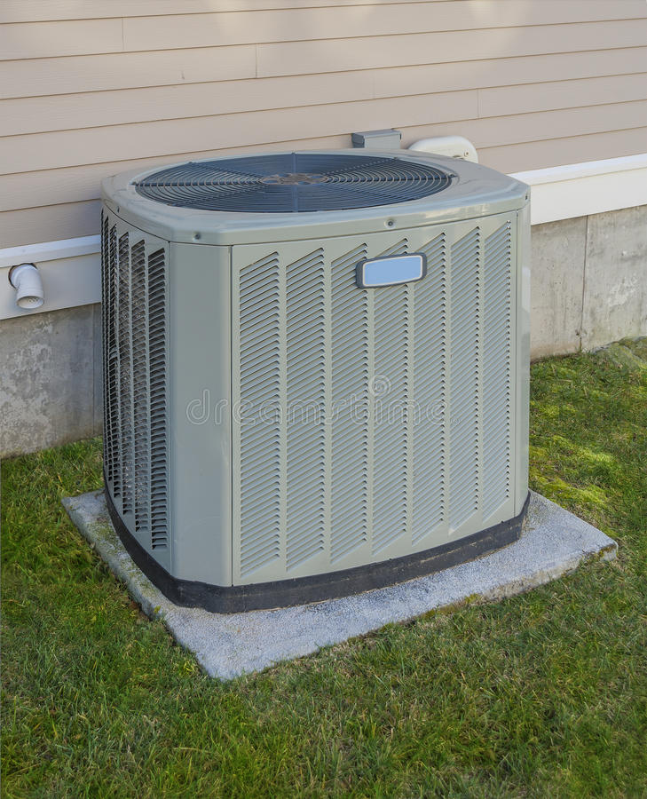 Free Heating And Cooling Unit Royalty Free Stock Photography - 27896707