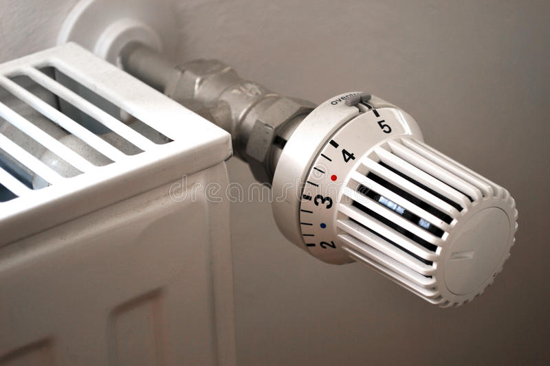 Heating Budget. Controlling heating costs in winter royalty free stock photo