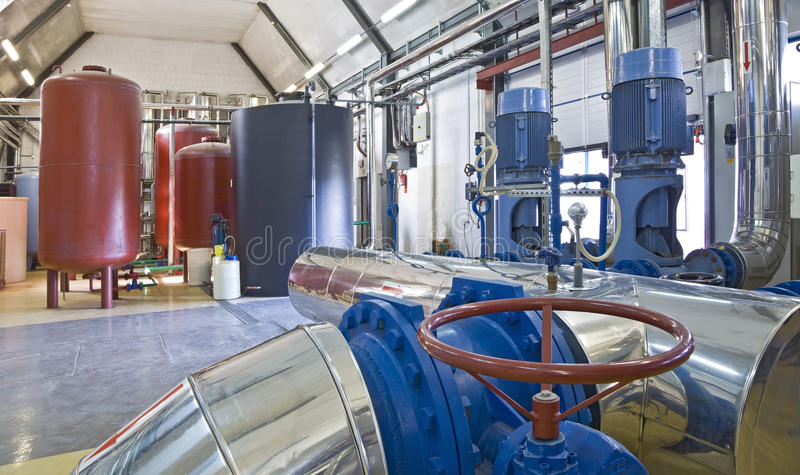 Download Heating system stock photo. Image of metallic, industry - 28586444