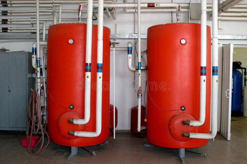 Heating tanks