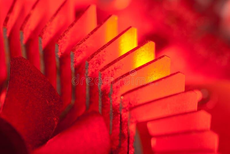 Heatsink zdjęcie stock
